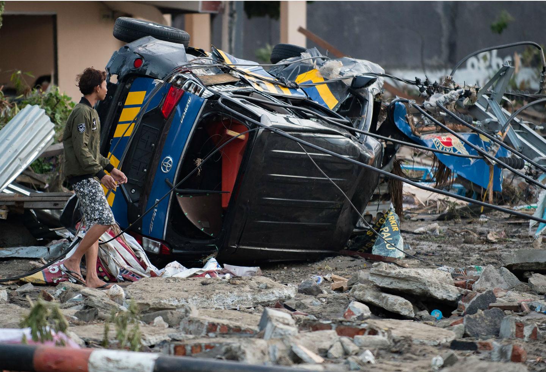 Los tsunamis más catastróficos a propósito de terremoto en
