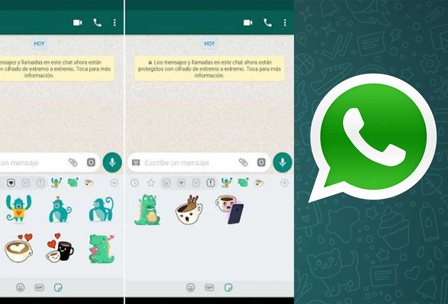 Whatsapp already allows to create custom stickers