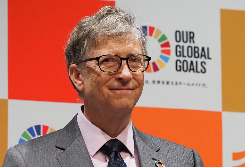 Gate2019 Gallery: Bill Gates Fue Fotografiado Haciendo Fila Para Comprarse