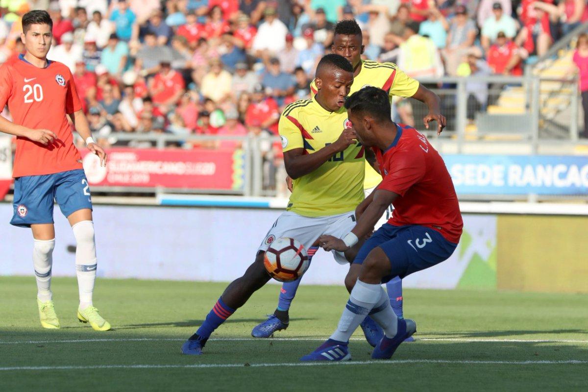Sub 20 Chile 2019: Colombia Derrotó A Chile Y Clasificó En El Sudamericano