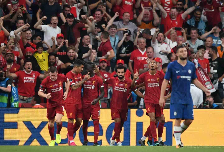 Champions: Liverpool clasificó a octavos de final tras vencer a Salzburgo | La FM