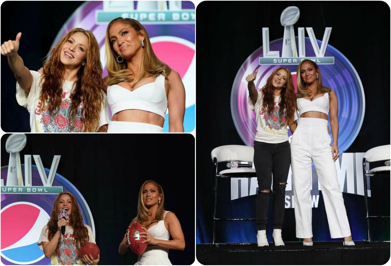 Ola de burlas para Shakira por su sencilla pinta frente a la de JLo  | La FM