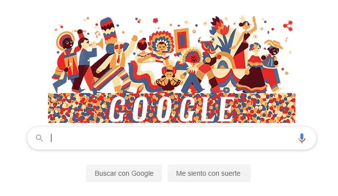 Google lanza un 'Doodle' como un tributo al carnaval de Barranquilla  | La FM
