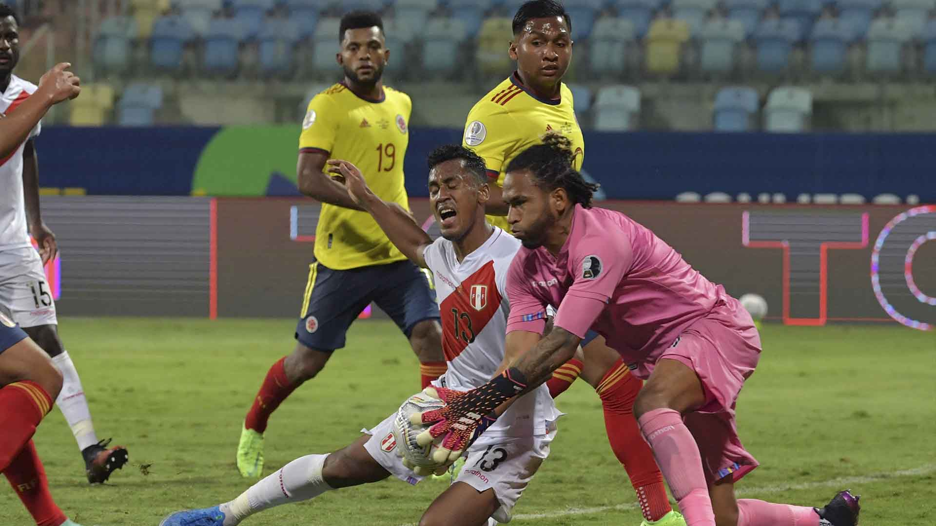 Árbitros para Colombia Vs Perú en la Copa América | La FM