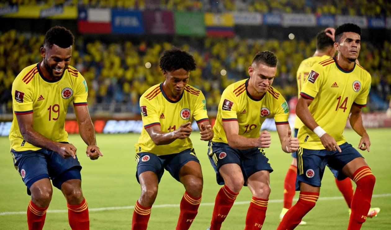 Colombia venció 3-1 a Chile en Barranquilla.