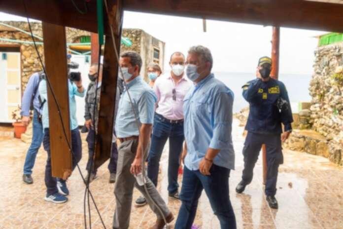 Duque 'jala las orejas' a ministros que atienden emergencia en San Andrés |  La FM
