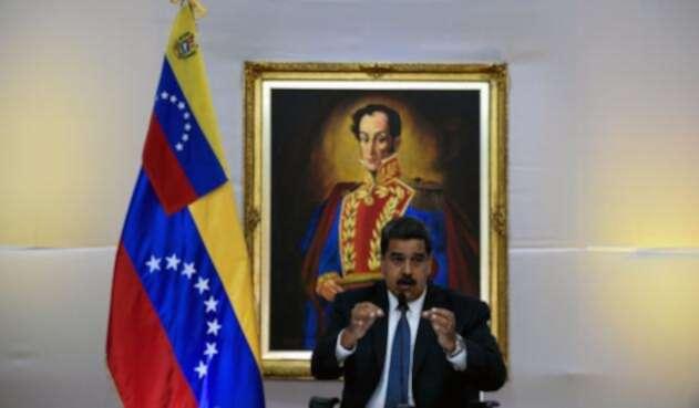 El presidente de Venezuela Nicolás Maduro leerá su discurso después del escrutinio.