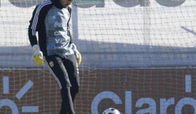 Sergio Romero se quedó por fuera del mundial