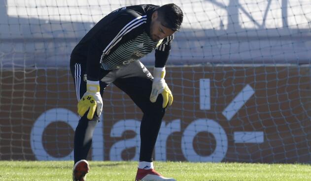 Sergio Romero, se pierde el Mundial de Rusia por una lesión