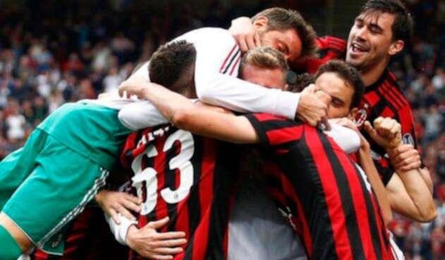 AC Milan celebra su victototia