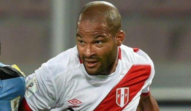 Alberto Rodríguez, jugador peruano / AFP