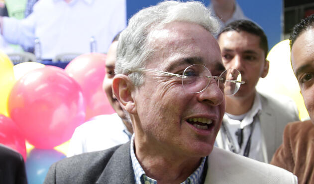 Álvaro Uribe, senador de la República / Colprensa