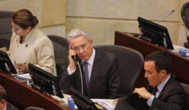 Álvaro Uribe Vélez en el Congreso