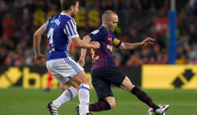 Andrés Iniesta se despide del Barcelona