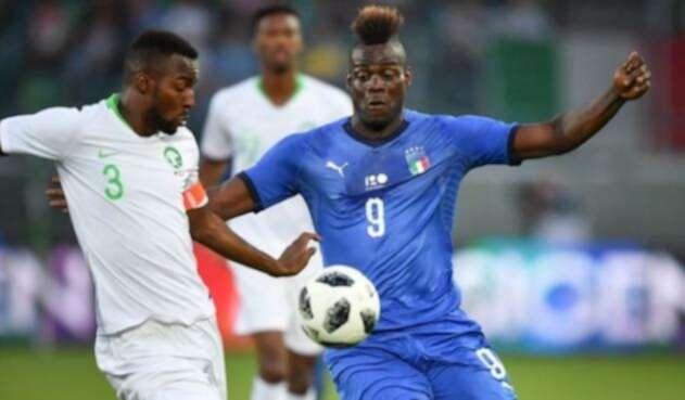 Arabia Saudita pierde contra Italia