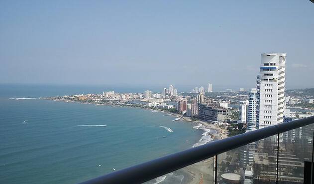 Bocagrande, barrio de Cartagena