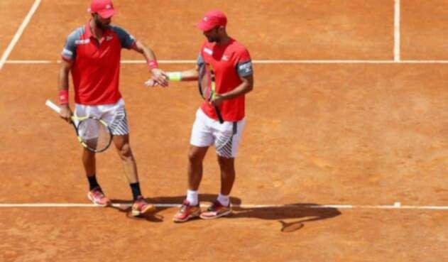 Juan Sebastián Cabal y Robert Farah en el Masters 1000 de Roma