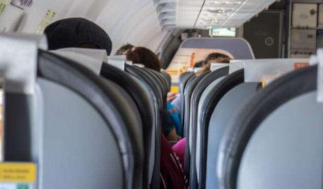 Cabina del avión