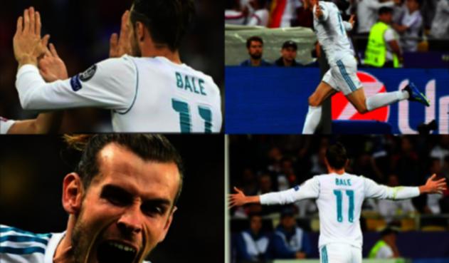 Bareth Bale, cuadro a cuadro en Champions League
