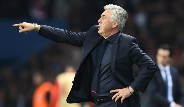 Carlo Ancelotti, técnico italiano