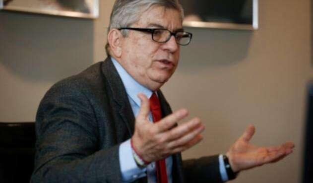 César Gaviria Trujillo, expresidente de la República y jefe del Partido Liberal