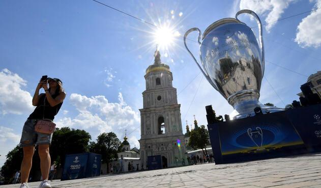 Kiev, la capital del fútbol en la final de la Champions League
