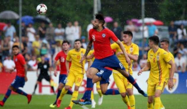 Chile vs Rumania / Tomada de la cuenta de Twitter @LaRoja