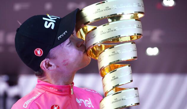 Chris Froome, campeón del Giro de Italia 2018