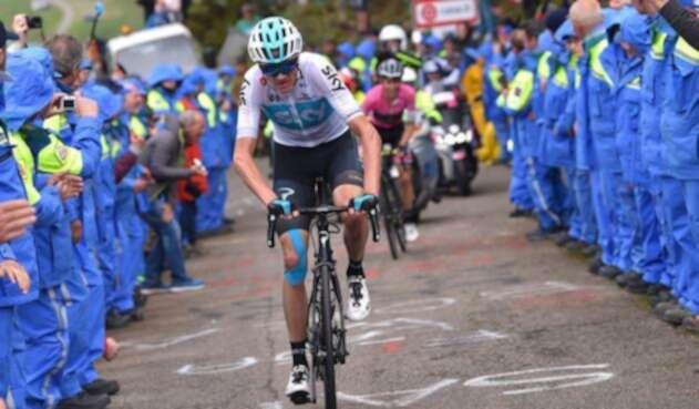 Chris Froome en el Giro de Italia