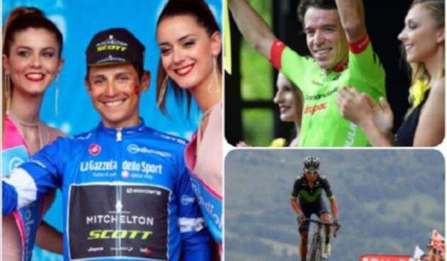 Los ciclistas colombianos han estado en podios en Europa desde 201 / Colprensa
