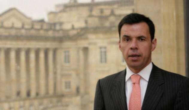 El ministro del Interior, Guillermo Rivera.