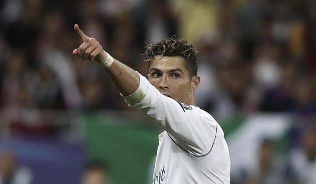 Cristiano Ronaldo, delantero del Real Madrid / AFP