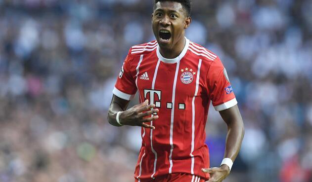 David Alaba, futbolista austriaco al servicio de Bayern Múnich