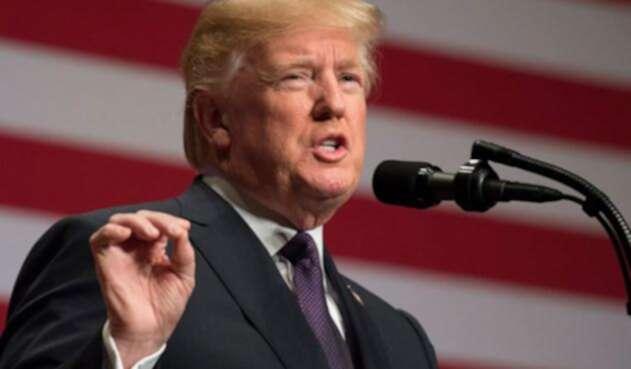 Donald Trump, presidente de Estados Unidos, ha sido quien inició la guerra comercial.