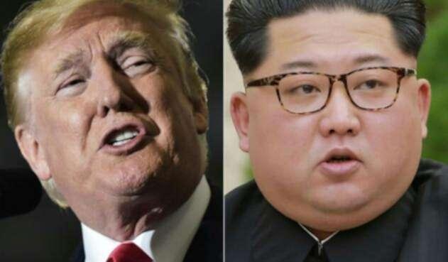 Donald Trump y Kim Jong-un / AFP