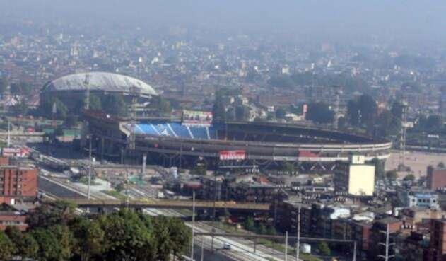 El estadio El Campín, en Bogotá