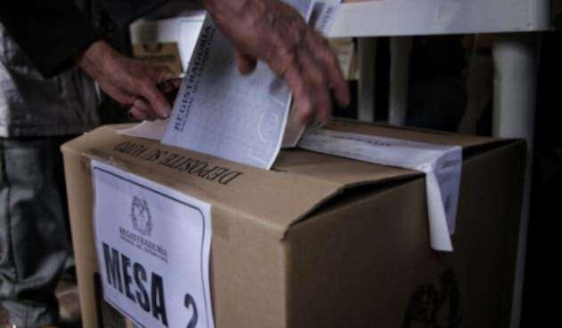 Urnas de votación en Colombia / Colprensa