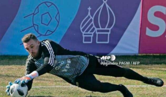 Franco Armani, portero de la Selección de Argentina