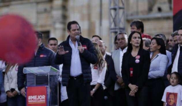 Cierre de campaña del candidato presidencial Germán Vargas Lleras