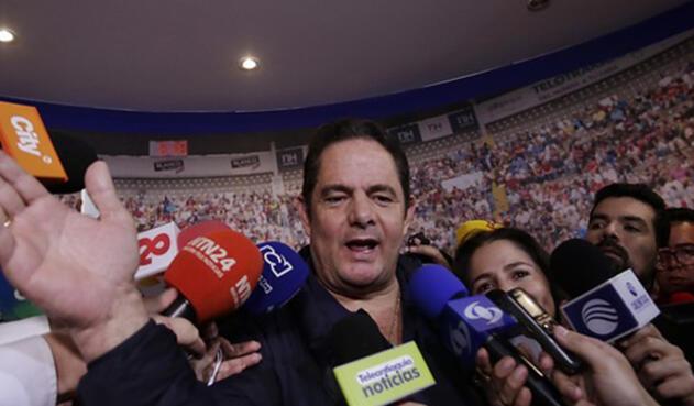 Germán Vargas Lleras fue derrotado en la primera vuelta electoral