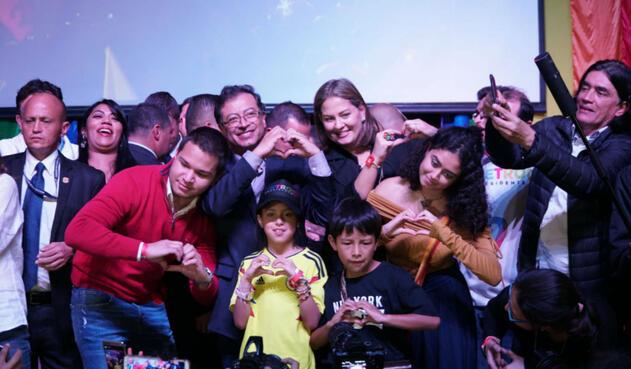 Gustavo Petro, candidato de Colombia Humana