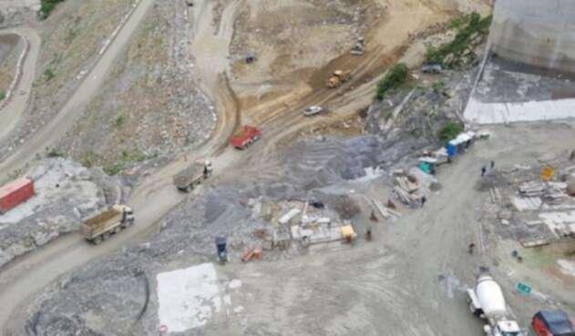 Avanza la construcción de Hidroituango.