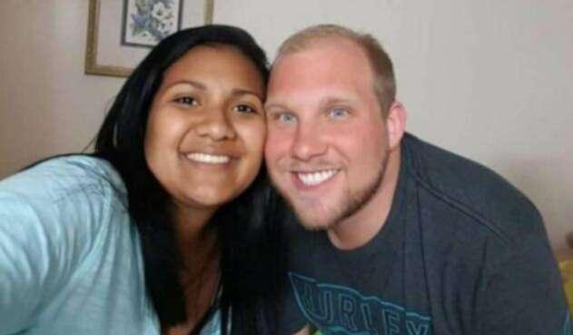 Joshua Holt y su esposa venezolana / Foto familia Holt