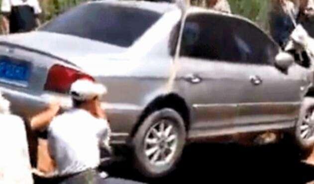 El entierro de Qi, el ciudadano chino fanático de los vehículos