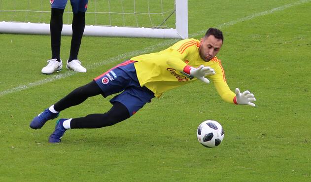 David Ospina ya se entrena con la Selección Colombia
