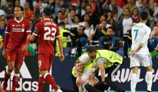 El intruso de la final de la Champions League