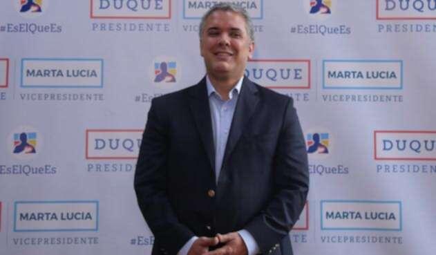 Iván Duque, candidato presidencial