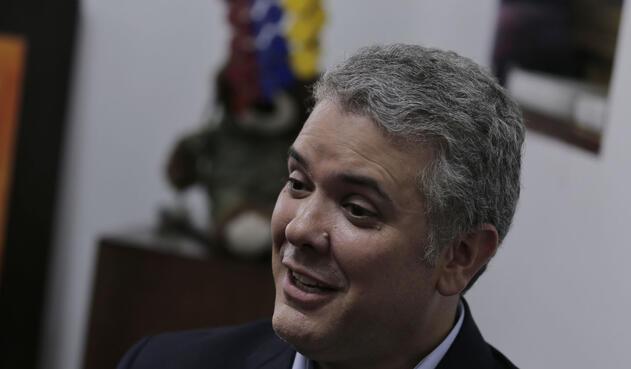 Iván Duque, candidato presidencial / Colprensa