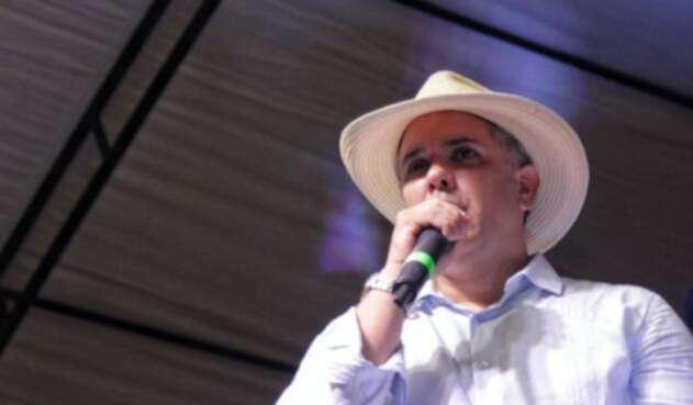 Iván Duque, candidato presidencial del Centro Democrático