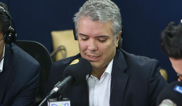 Iván Duque, candidato del Centro Democrático